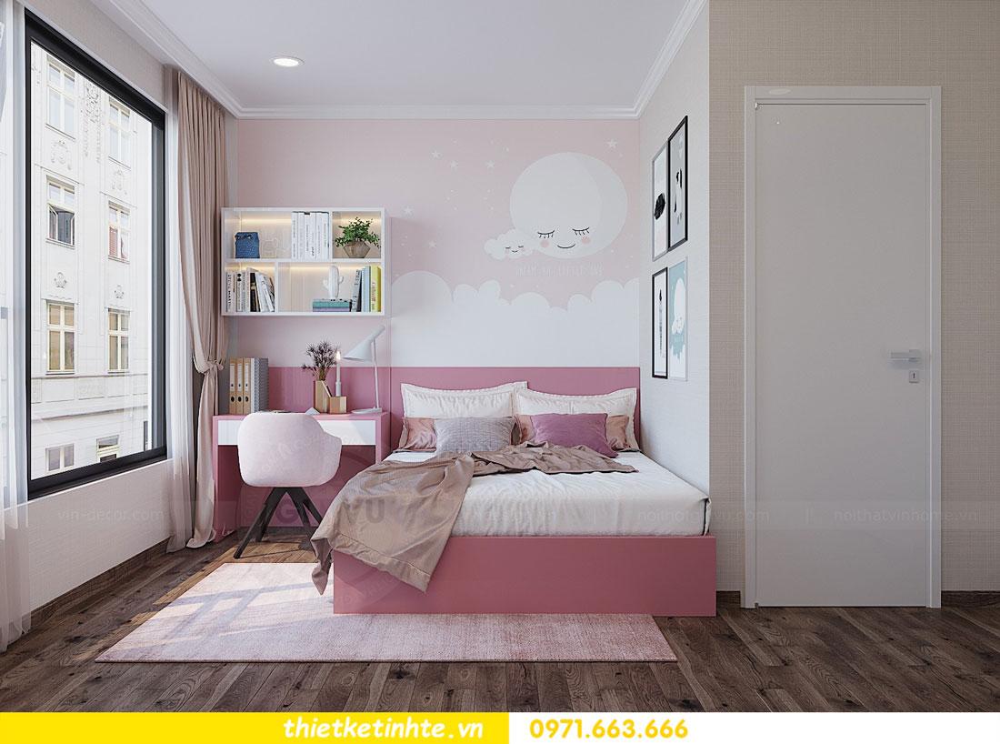 thiết kế thi công nội thất chung cư Park Hill P712 anh Điệp 14