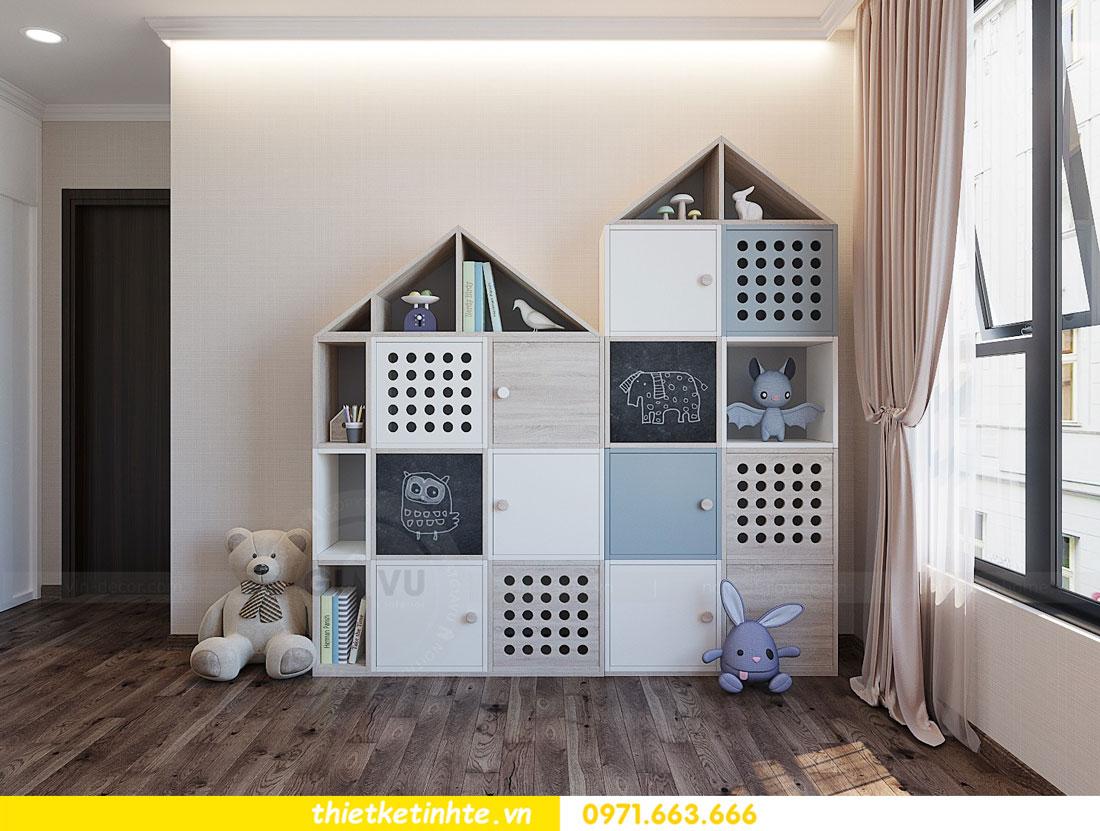 thiết kế thi công nội thất chung cư Park Hill P712 anh Điệp 16