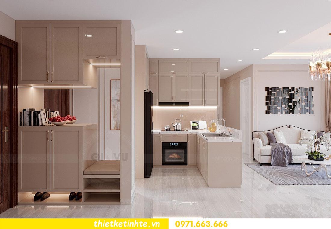tư vấn thiết kế nội thất chung cư cao cấp nhà chị Loan 1