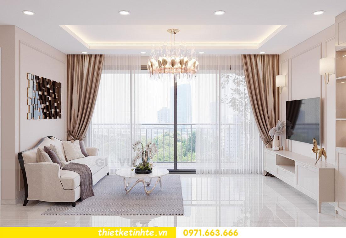 tư vấn thiết kế nội thất chung cư cao cấp nhà chị Loan 3