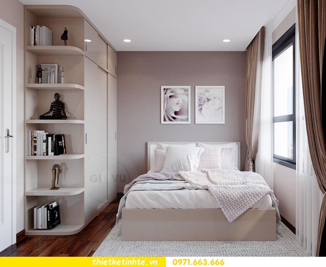 tư vấn thiết kế nội thất chung cư cao cấp nhà chị Loan 6