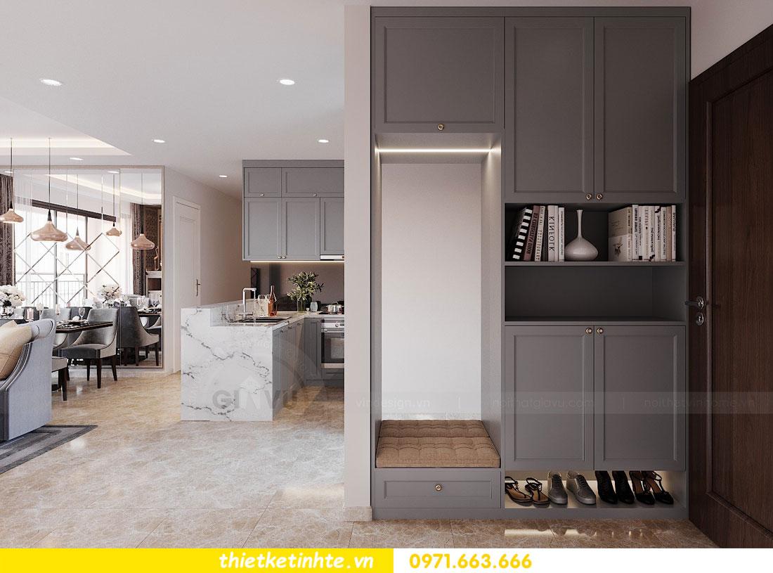 Mẫu thiết kế nội thất chung cư 3 phòng ngủ C3-06 DCapitale 01