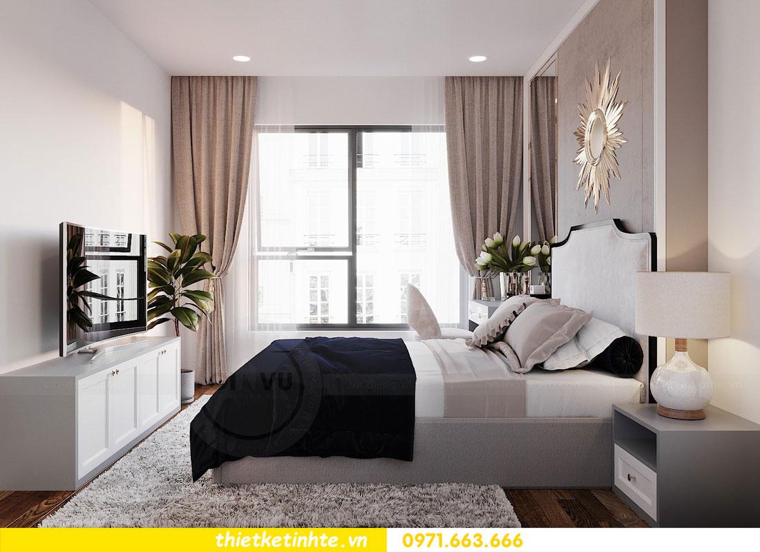 Mẫu thiết kế nội thất chung cư 3 phòng ngủ C3-06 DCapitale 05