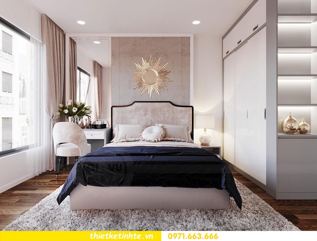 Mẫu thiết kế nội thất chung cư 3 phòng ngủ C3-06 DCapitale 06