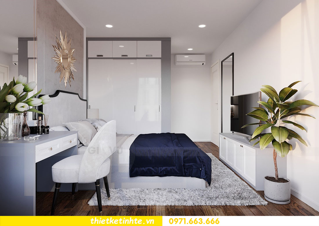 Mẫu thiết kế nội thất chung cư 3 phòng ngủ C3-06 DCapitale 07