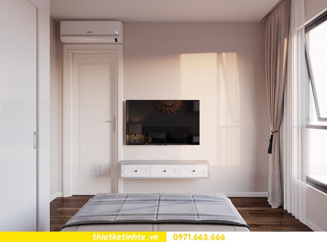 Mẫu thiết kế nội thất chung cư 3 phòng ngủ C3-06 DCapitale 10