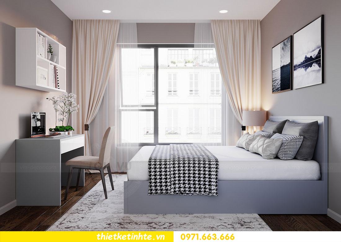 Mẫu thiết kế nội thất chung cư 3 phòng ngủ C3-06 DCapitale 11