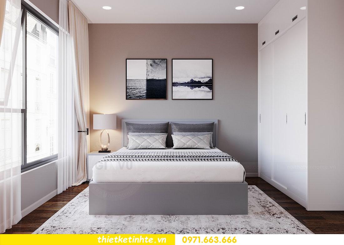 Mẫu thiết kế nội thất chung cư 3 phòng ngủ C3-06 DCapitale 12