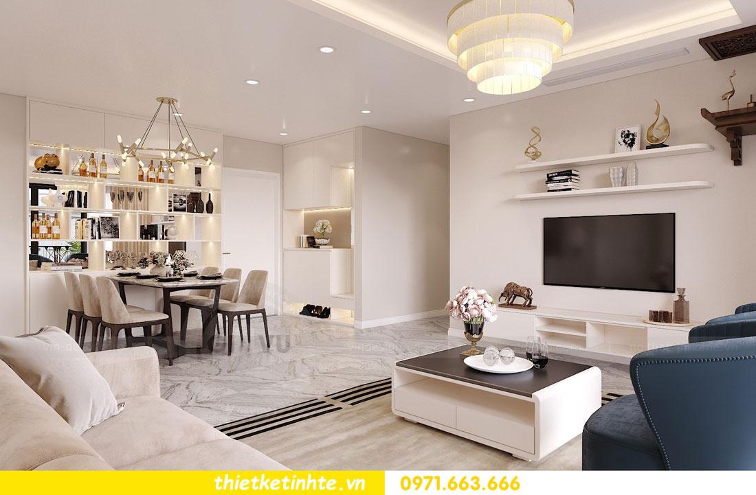 nội thất chung cư theo phong cách hiện đại nhà anh Kiên 01