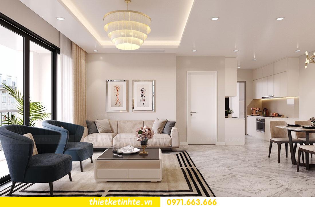 nội thất chung cư theo phong cách hiện đại nhà anh Kiên 02