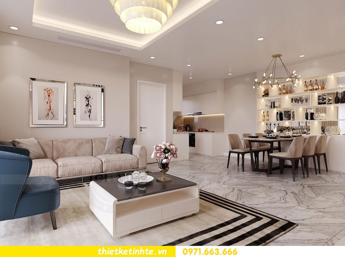 nội thất chung cư theo phong cách hiện đại nhà anh Kiên 04