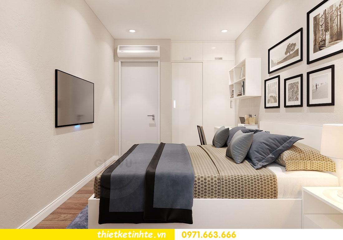 nội thất chung cư theo phong cách hiện đại nhà anh Kiên 11