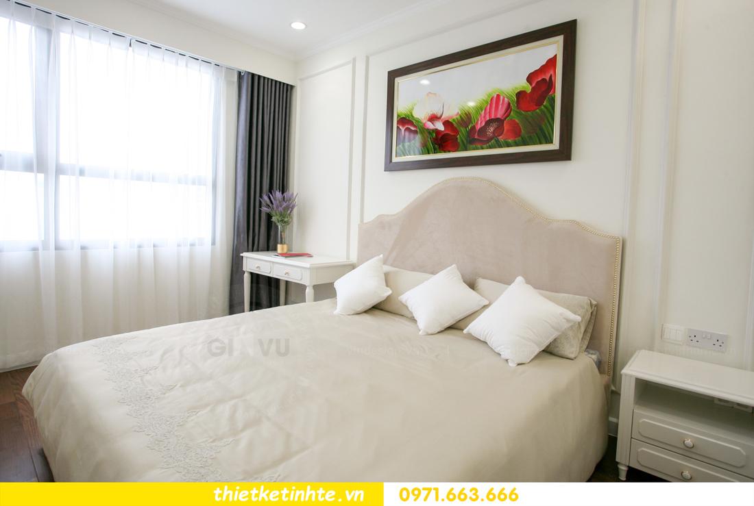 thi công nội thất chung cư 2 phòng ngủ thực tế nhà anh nam 13