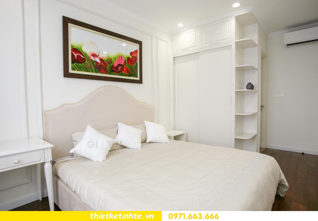 thi công nội thất chung cư 2 phòng ngủ thực tế nhà anh nam 14