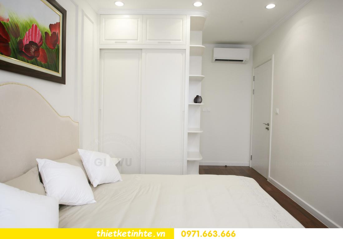 thi công nội thất chung cư 2 phòng ngủ thực tế nhà anh nam 15