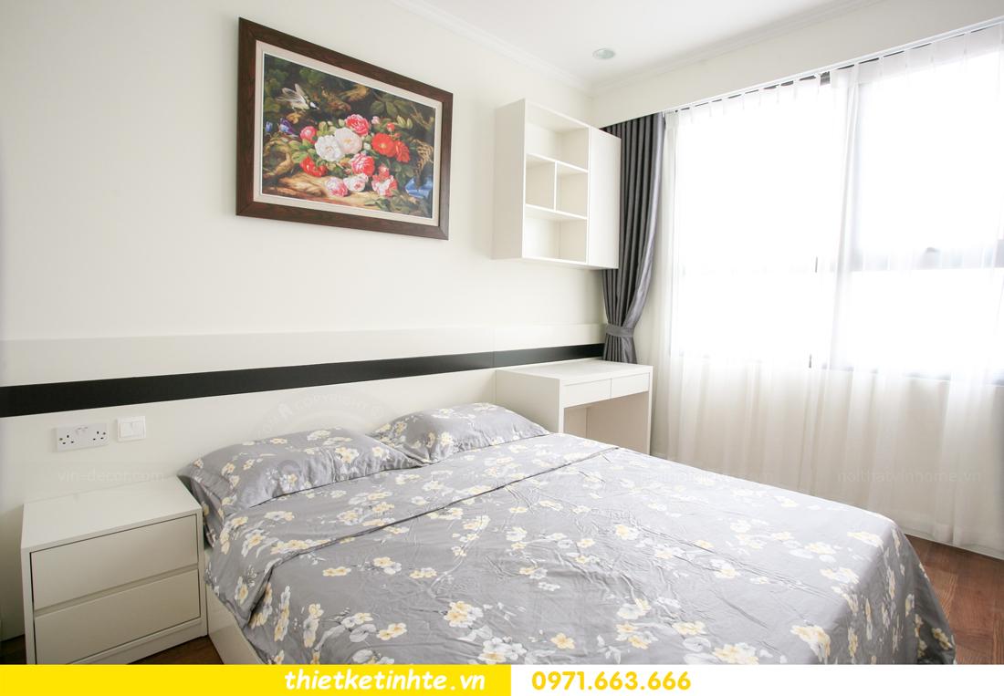 thi công nội thất chung cư 2 phòng ngủ thực tế nhà anh nam 16