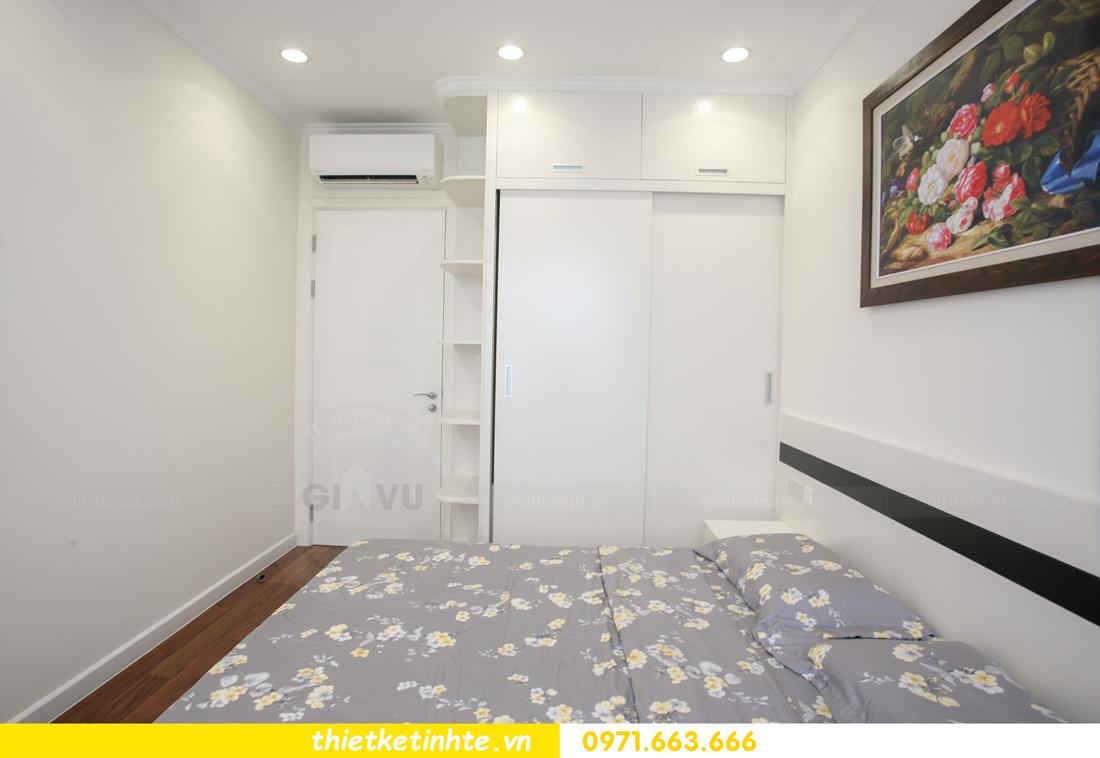 thi công nội thất chung cư 2 phòng ngủ thực tế nhà anh nam 17