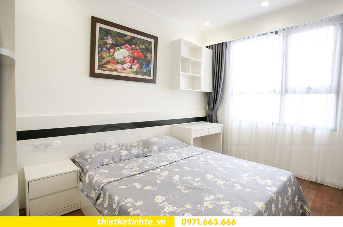 thi công nội thất chung cư 2 phòng ngủ thực tế nhà anh nam 18