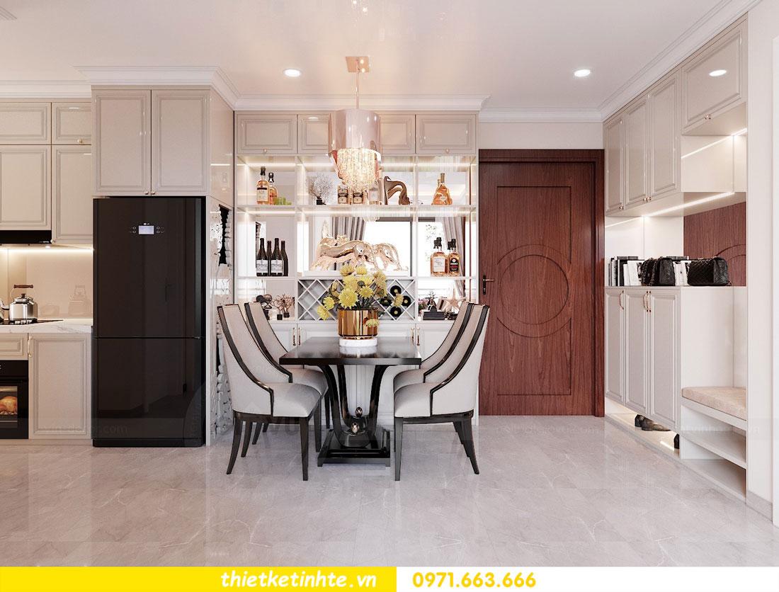 thiết kế nội thất chung cư 60m2 với 2 phòng ngủ anh Tuấn 03