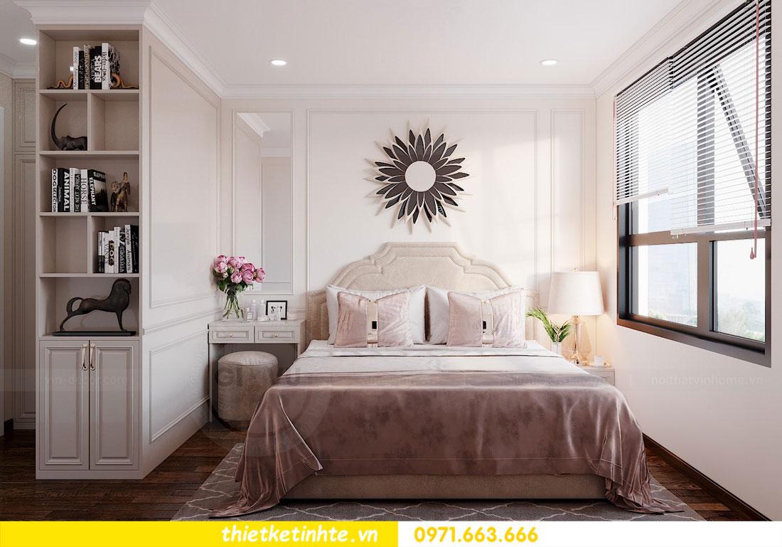 thiết kế nội thất chung cư 60m2 với 2 phòng ngủ anh Tuấn 05