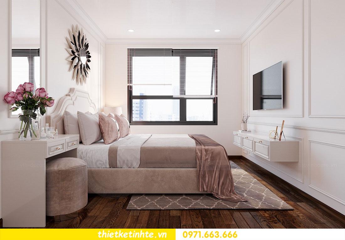 thiết kế nội thất chung cư 60m2 với 2 phòng ngủ anh Tuấn 06