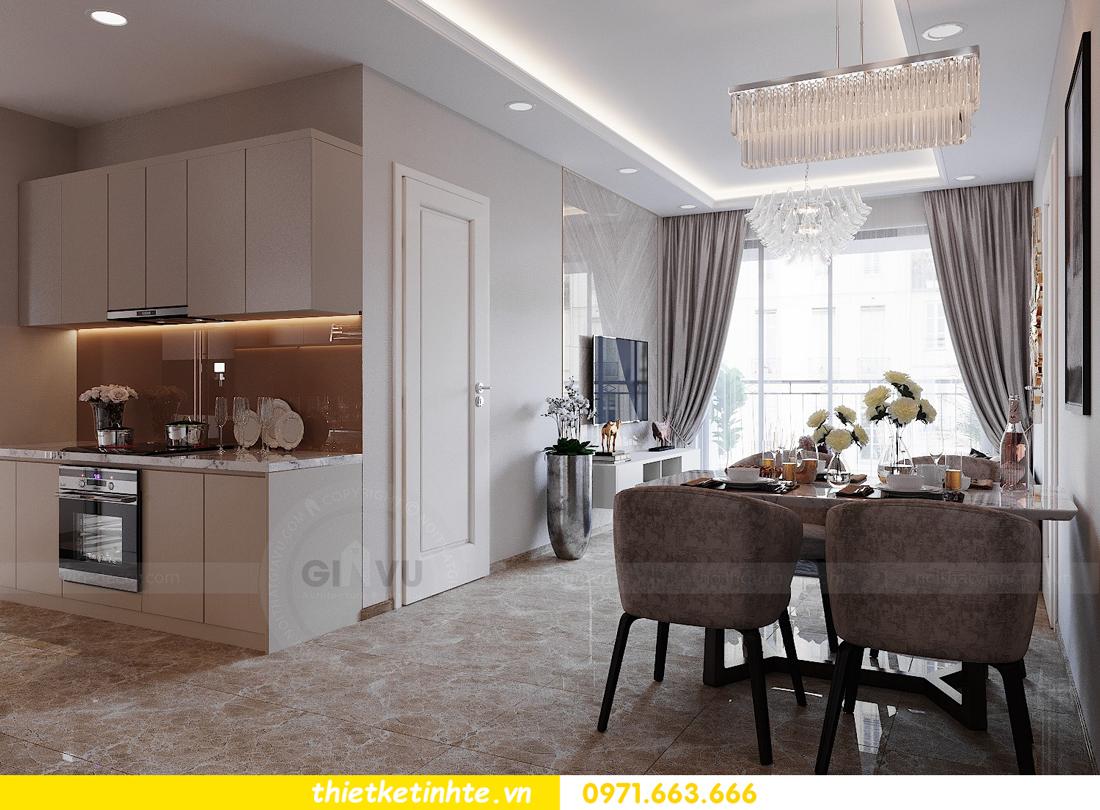 thiết kế nội thất căn hộ 72m2 tại chung cư DCapitale 02