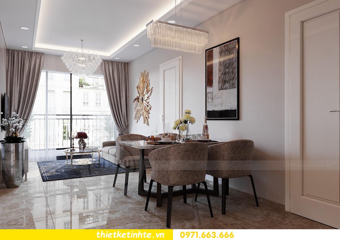 thiết kế nội thất căn hộ 72m2 tại chung cư DCapitale 03