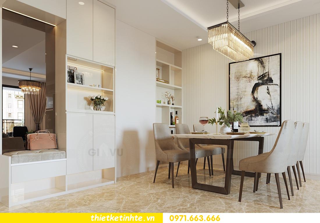 thiết kế nội thất căn hộ 90m2 tại chung cư DCapitale 01