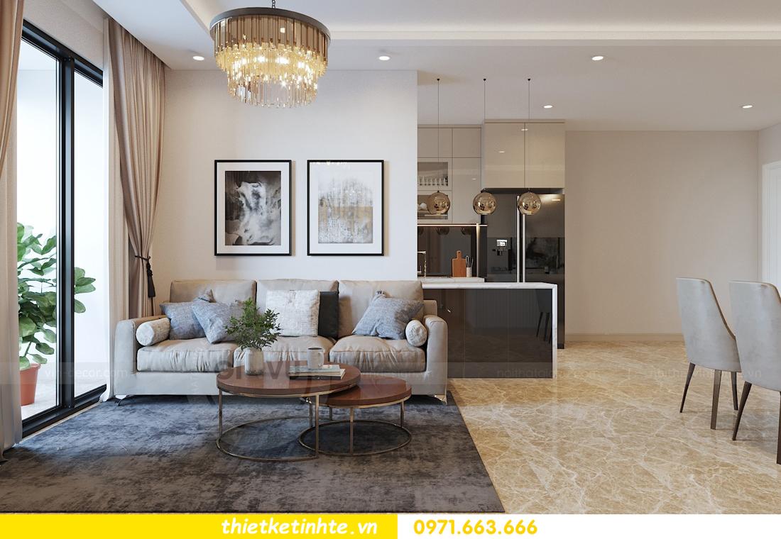 thiết kế nội thất căn hộ 90m2 tại chung cư DCapitale 03