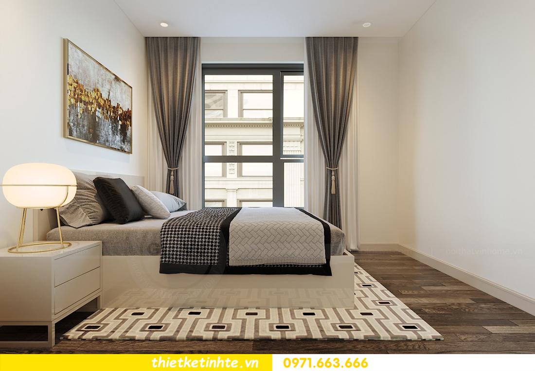 thiết kế nội thất căn hộ 90m2 tại chung cư DCapitale 09
