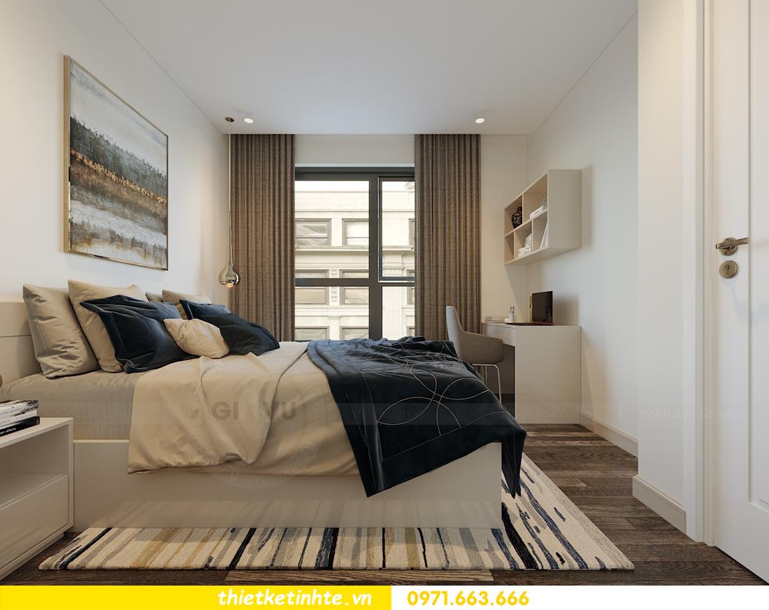 thiết kế nội thất căn hộ 90m2 tại chung cư DCapitale 11