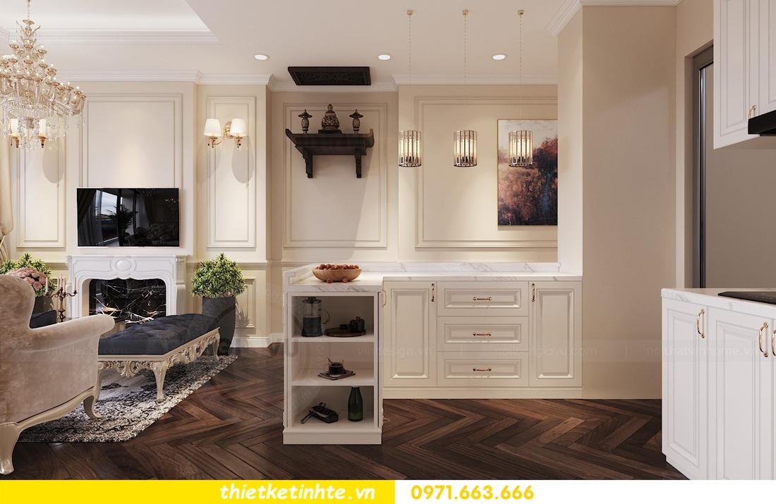 thiết kế nội thất chung cư DCapitale căn 3 ngủ sang trọng tinh tế 02