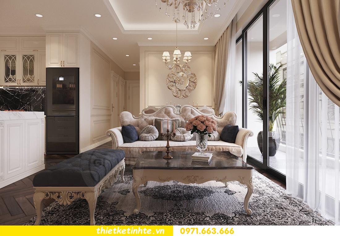 thiết kế nội thất chung cư DCapitale căn 3 ngủ sang trọng tinh tế 03