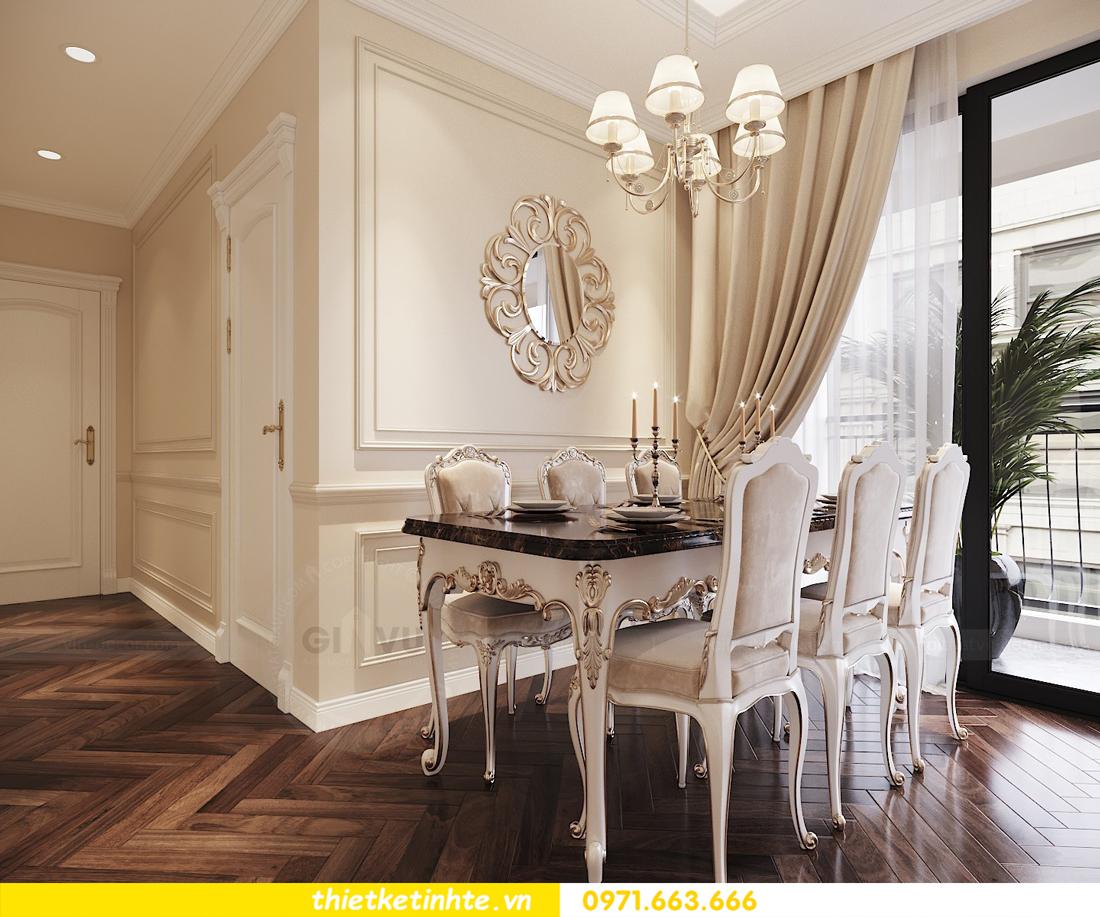 thiết kế nội thất chung cư DCapitale căn 3 ngủ sang trọng tinh tế 05