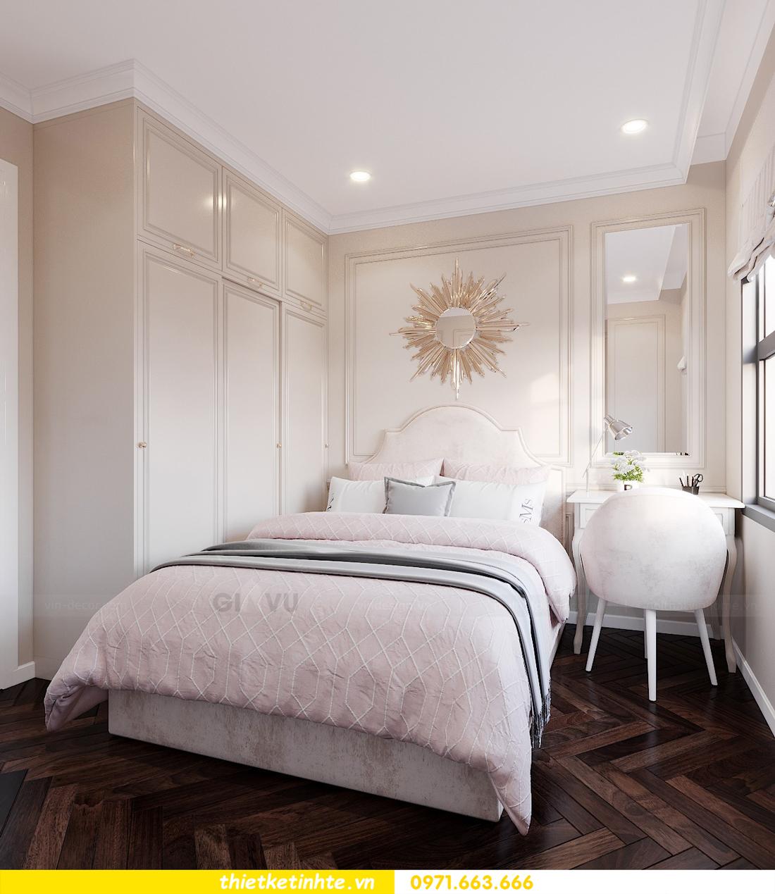 thiết kế nội thất chung cư DCapitale căn 3 ngủ sang trọng tinh tế 09