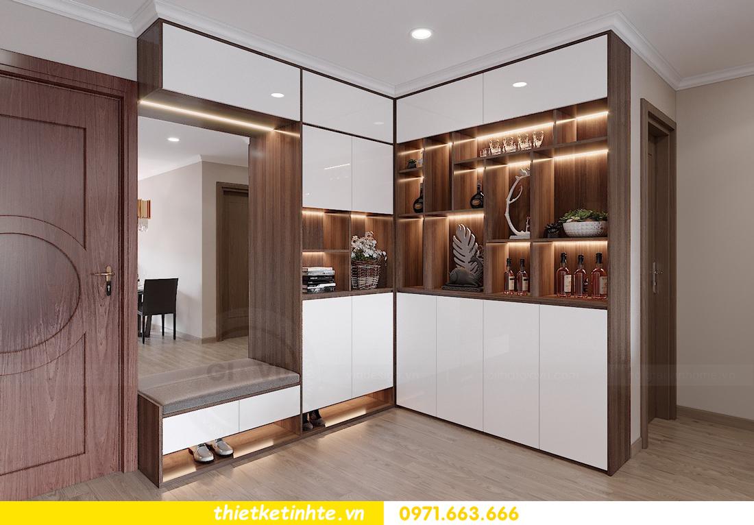 thiết kế nội thất chung cư Vinhomes Park Hill tòa P10 căn 09 1