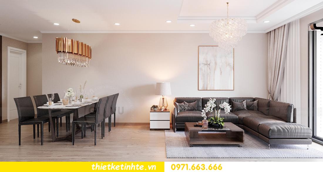 thiết kế nội thất chung cư Vinhomes Park Hill tòa P10 căn 09 2