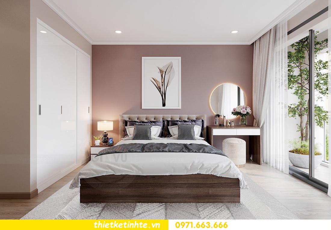 thiết kế nội thất chung cư Vinhomes Park Hill tòa P10 căn 09 5