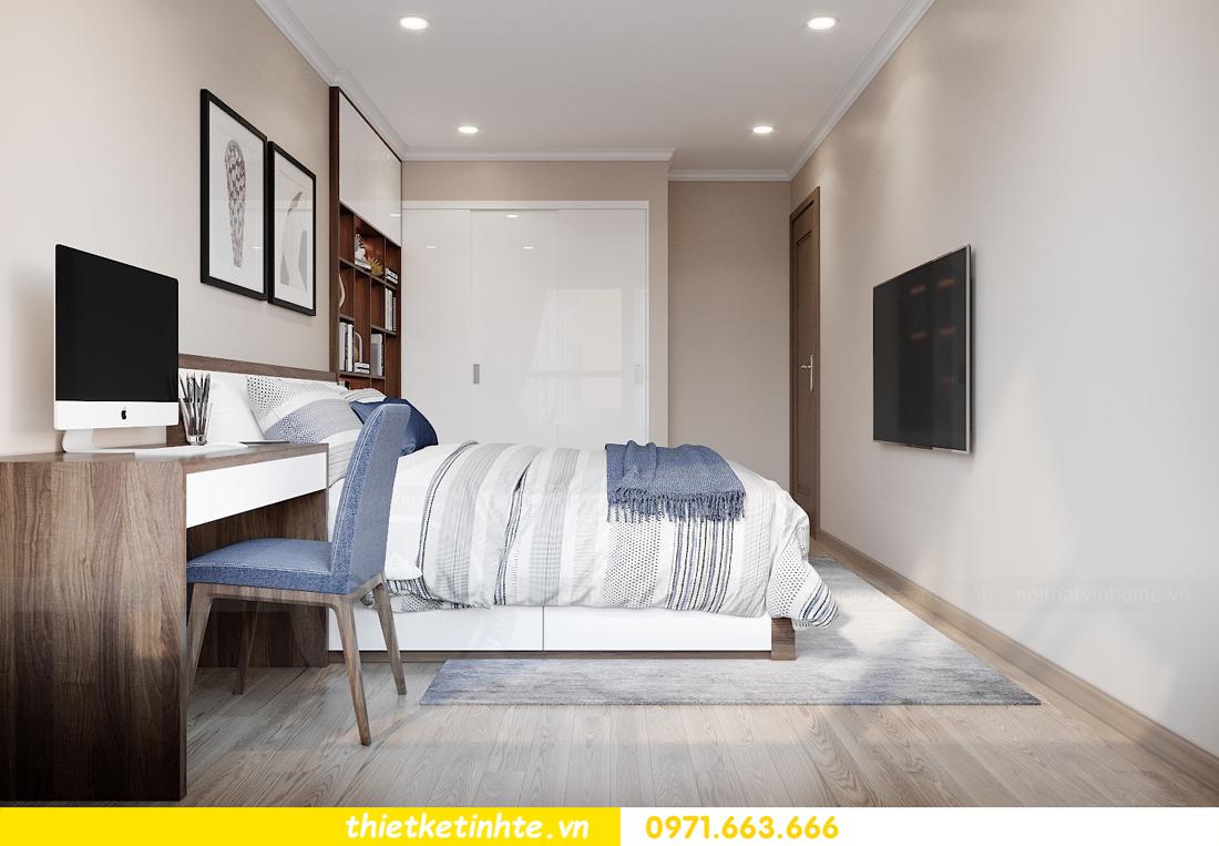 thiết kế nội thất chung cư Vinhomes Park Hill tòa P10 căn 09 8