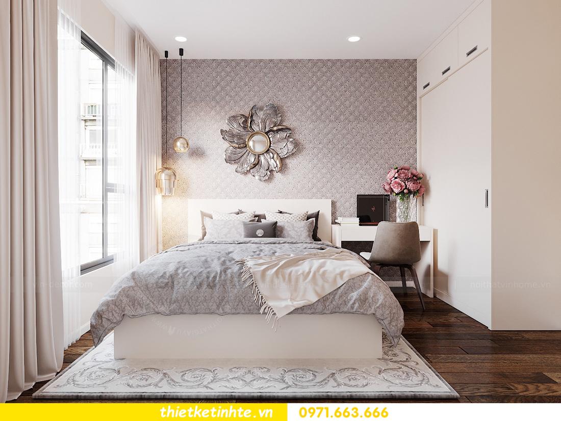 thiết kế nội thất Scandinavian tại chung cư Dcapitale căn C607 06