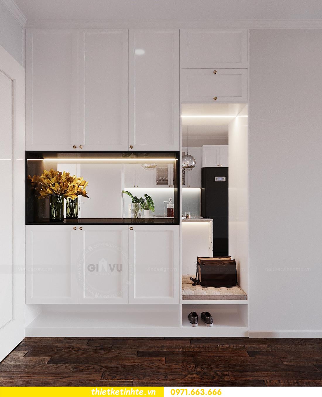 thiết kế thi công nội thất chung cư Sunshine Riverside chị My 01