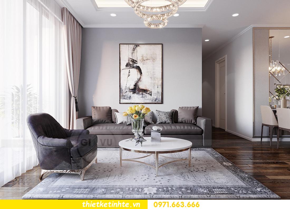 thiết kế thi công nội thất chung cư Sunshine Riverside chị My 06