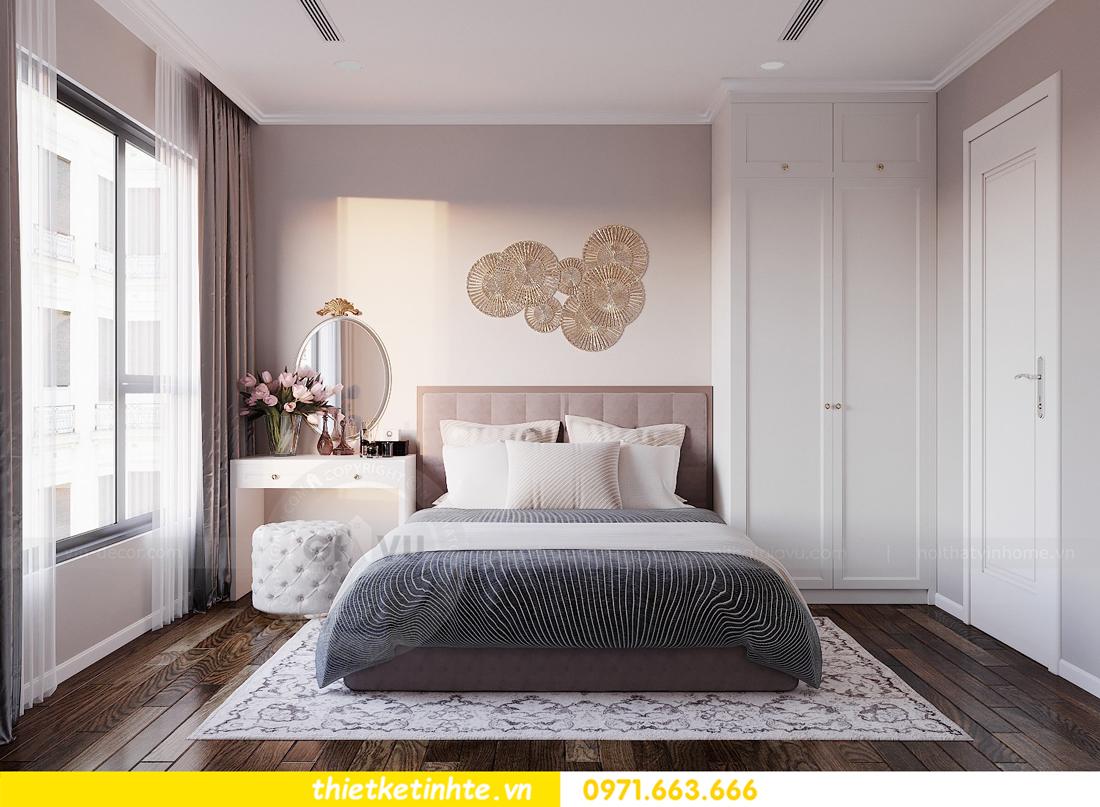 thiết kế thi công nội thất chung cư Sunshine Riverside chị My 09
