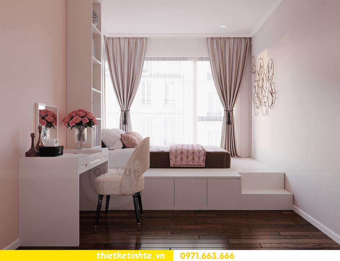 thiết kế thi công nội thất chung cư Sunshine Riverside chị My 11