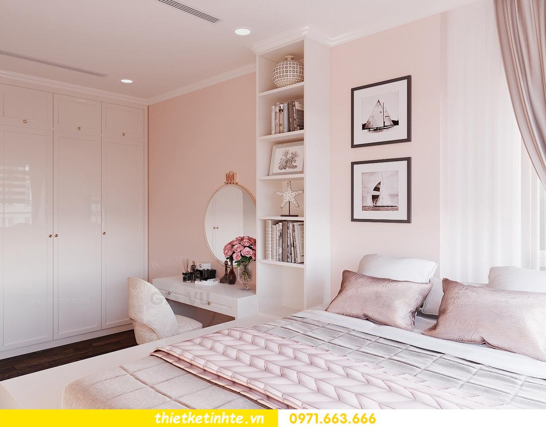 thiết kế thi công nội thất chung cư Sunshine Riverside chị My 12