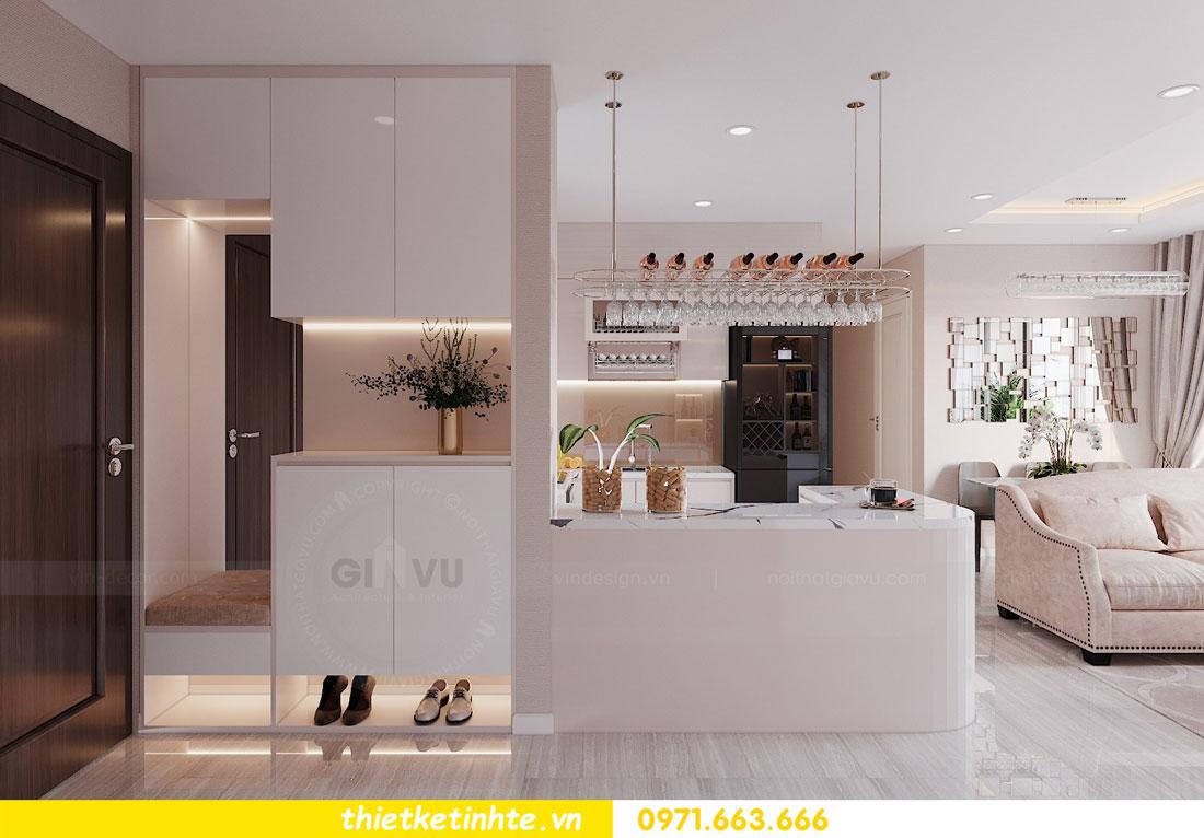 ý tưởng thiết kế nội thất hay cho căn hộ chung cư 3 phòng ngủ 01