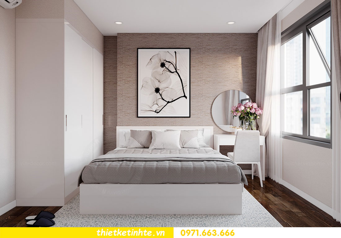 ý tưởng thiết kế nội thất hay cho căn hộ chung cư 3 phòng ngủ 08