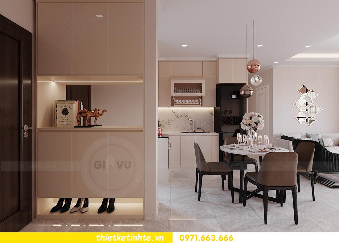 mẫu thiết kế nội thất chung cư West Point căn hộ 3 phòng ngủ 01