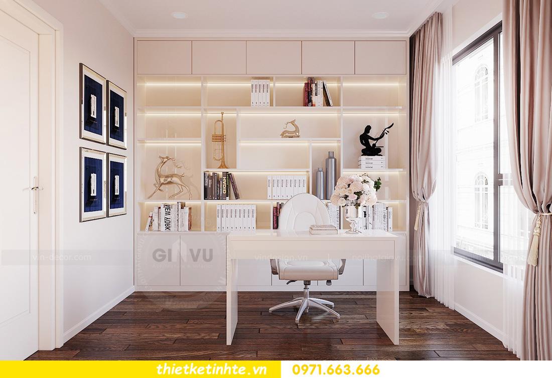mẫu thiết kế nội thất chung cư West Point căn hộ 3 phòng ngủ 10