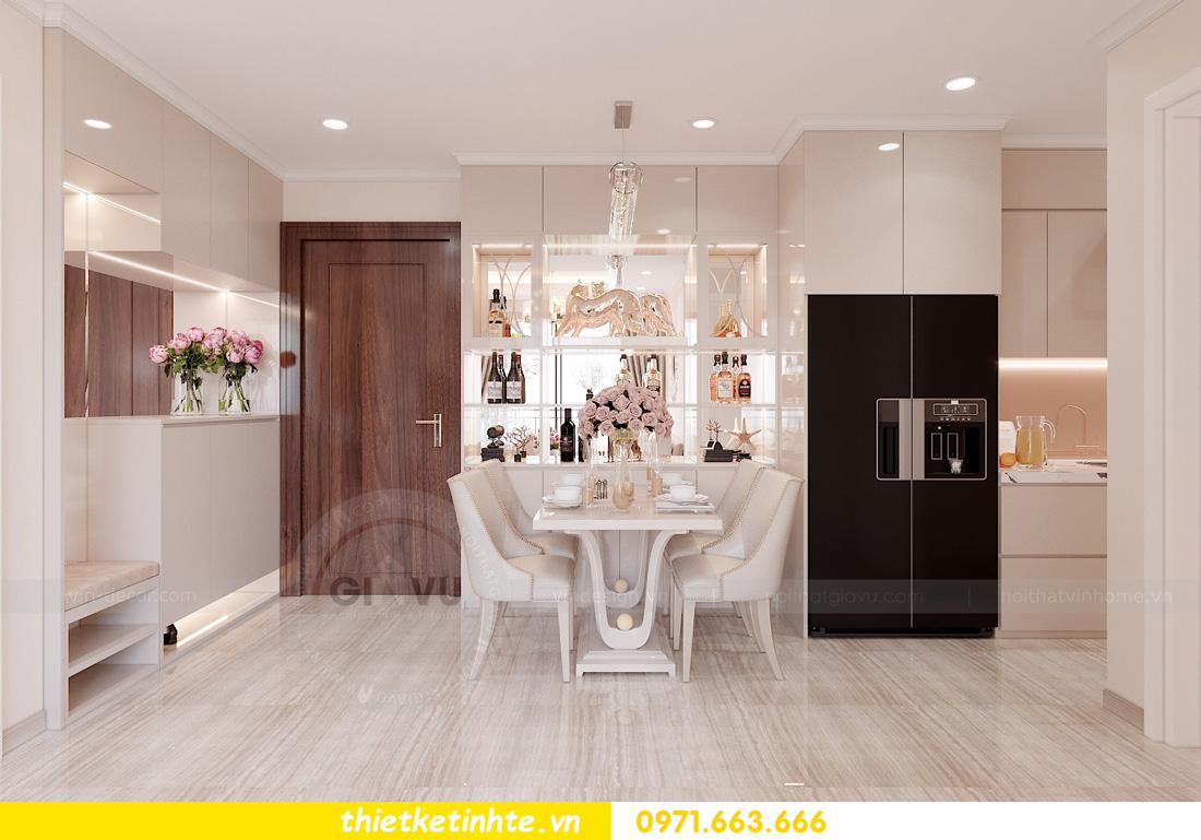 thiết kế nội thất căn hộ chung cư West Point trẻ trung sang trọng 01
